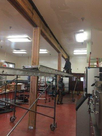 Villa beam repair
