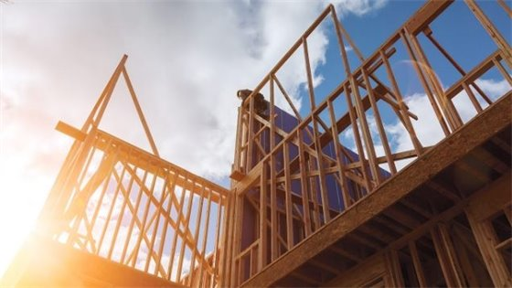 Photo of house under construction