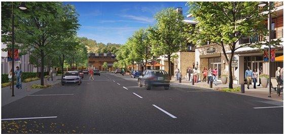 photo of rendering of new North Village development