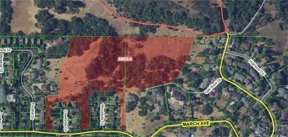 fire fuels management fitch mountain villas open space