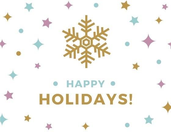 Image of Snowflakes, Happy Holidays, Healdsburg!
