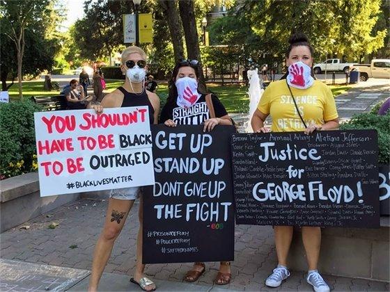 George Floyd Vigil, June 5, 2020