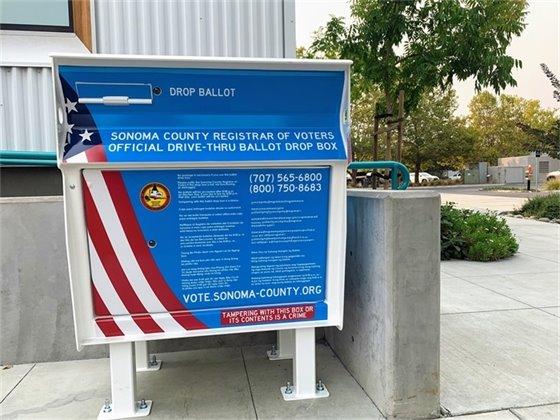 Image of Ballot Box at City Hall
