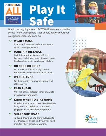 Playground restrictions