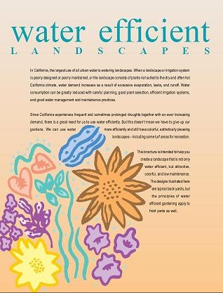 Water Efficient Landscapes flyer