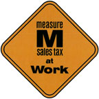 Measure M Sign