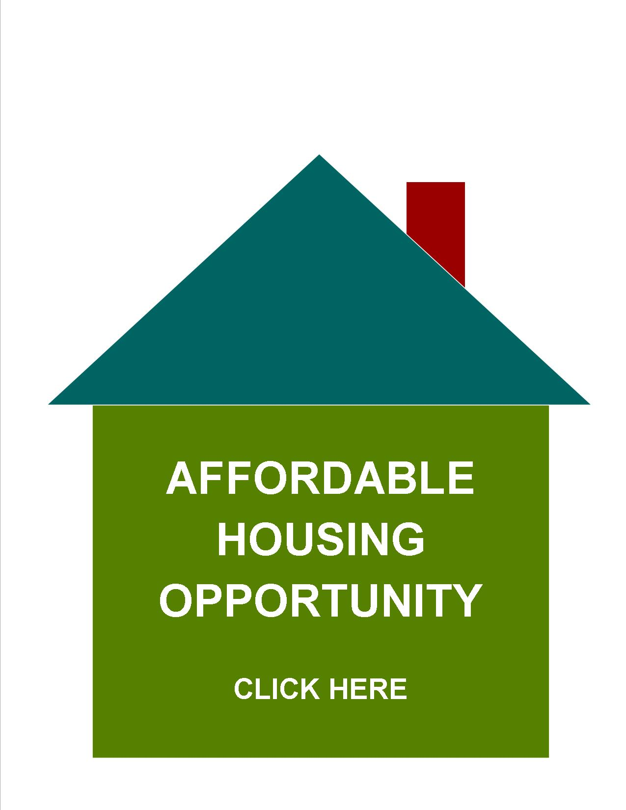 Affordable Housing Opportunity