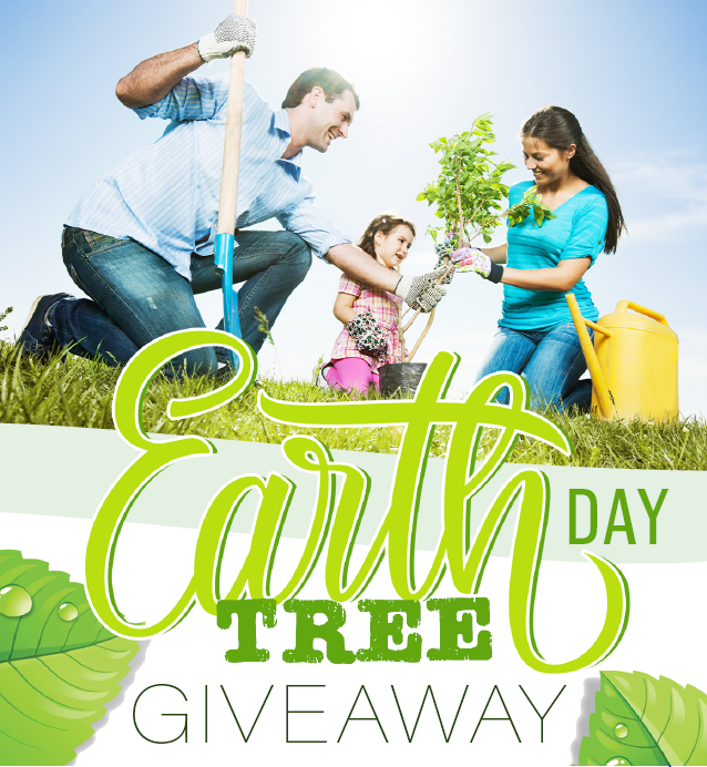 Earth Day Tree Giveaway Image