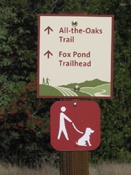 Dogs on Leash Signage